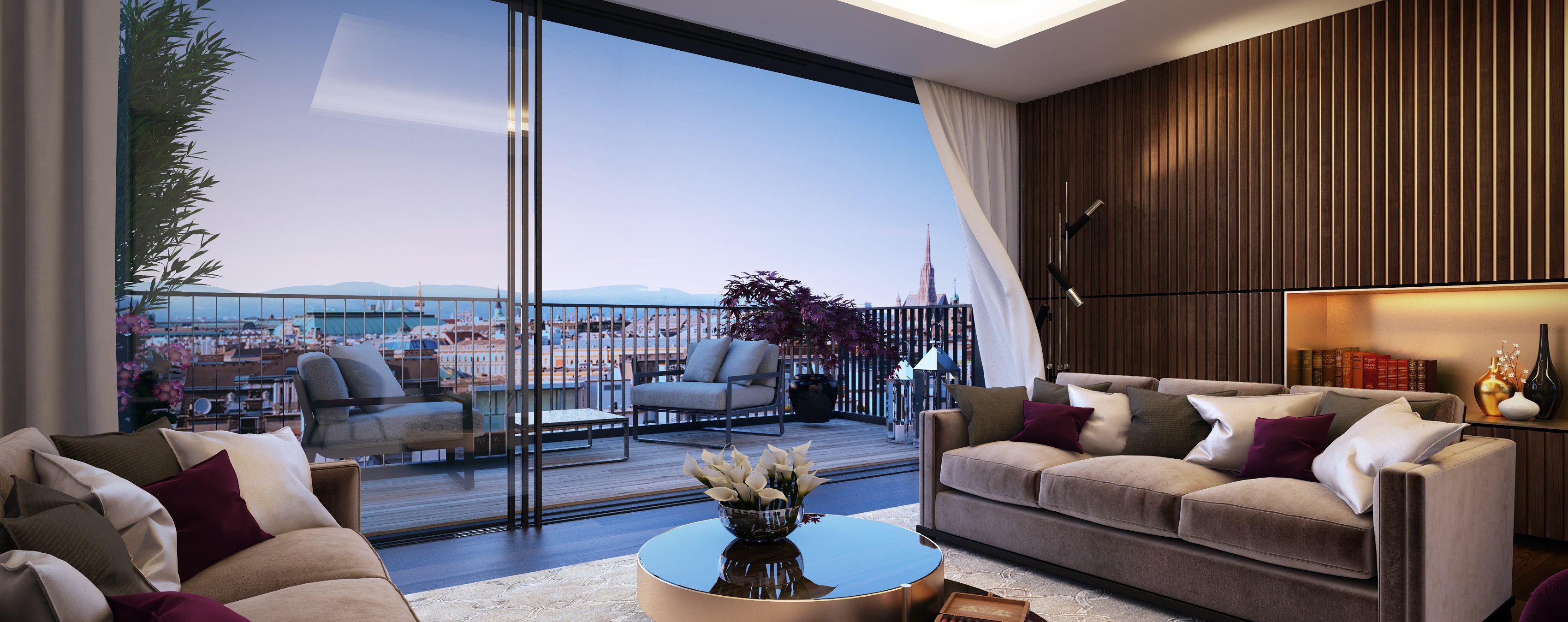 Photo: Tailor-made penthouse with roof terrace