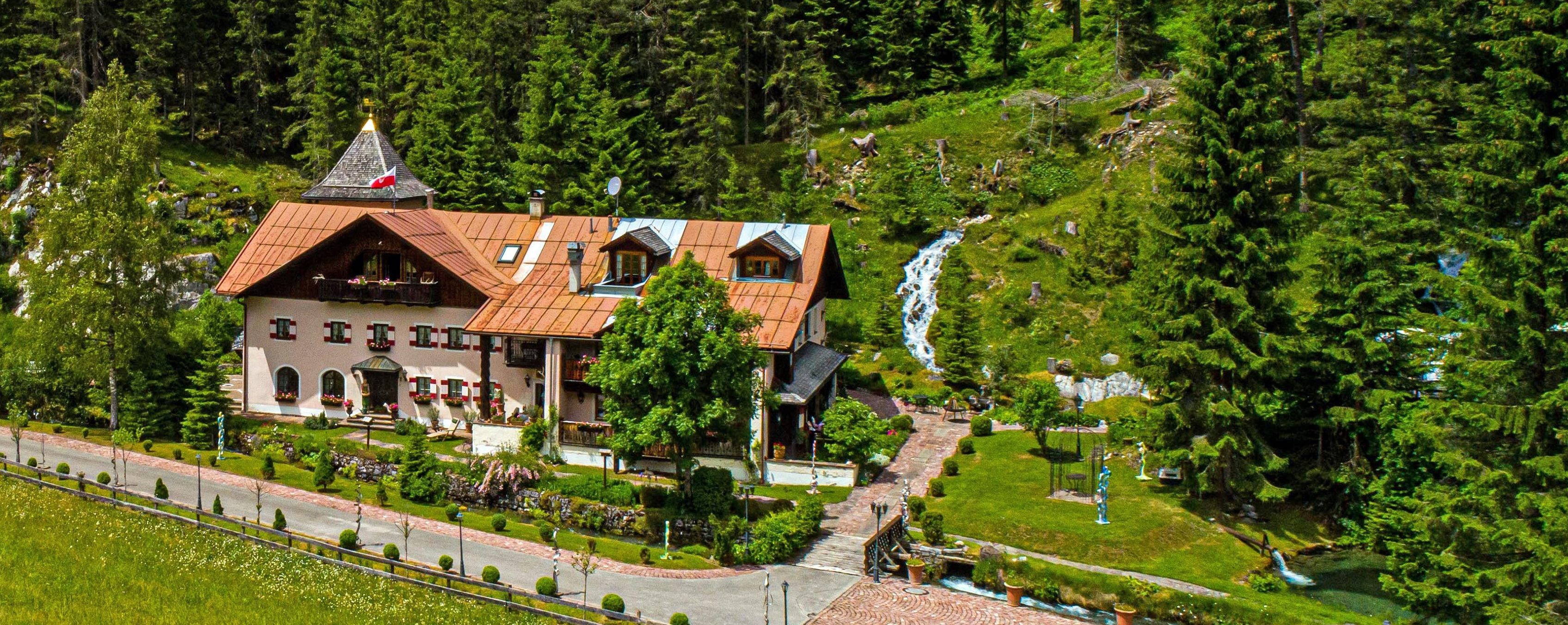Photo: Romantic water mansion in the Tyrolean mountains