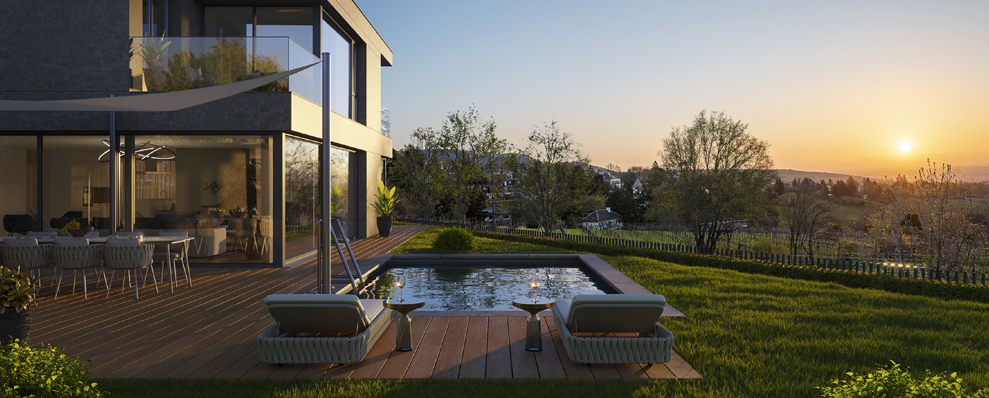 Photo: Luxurious residential project in a dream location